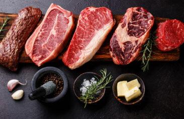 Виды стейков из говядины